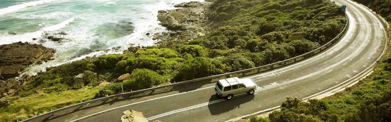 На автомобиле по легендарной Great Ocean Road в Австралии