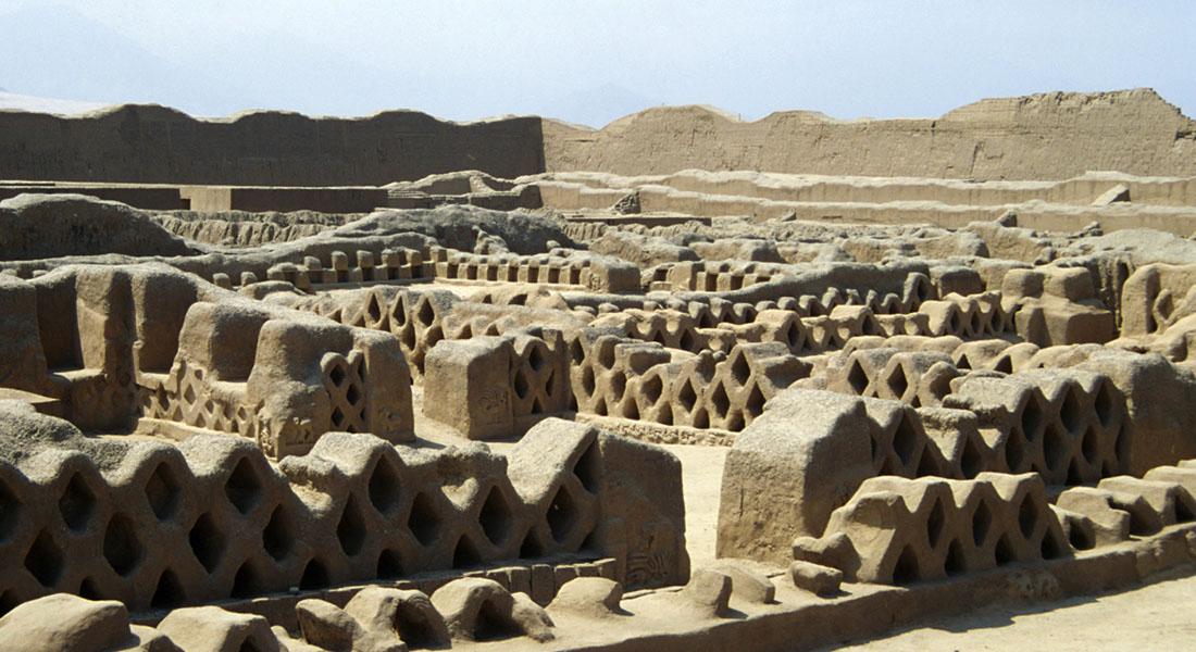 Перу, древний город Чан Чан