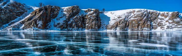 Зима на Байкале