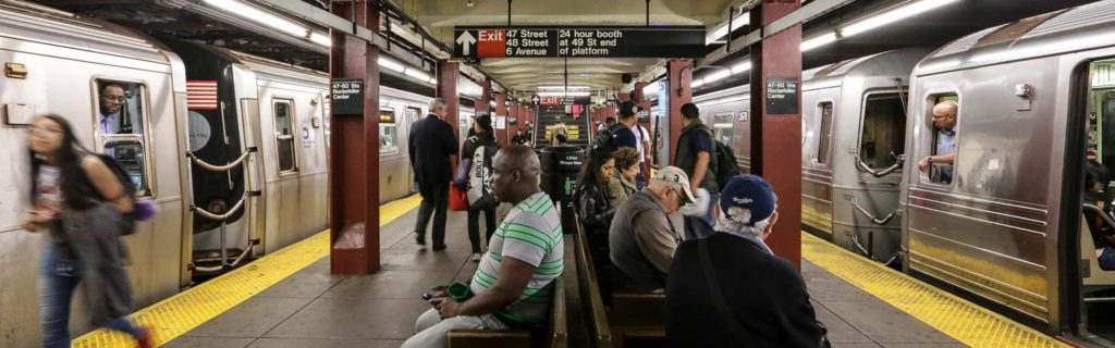 """Метро Нью-Йорка: правила выживания в подземке """"Большого яблока"""""""