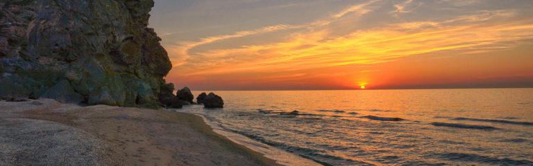 Дикие пляжи Крыма – возможность побыть наедине с природой