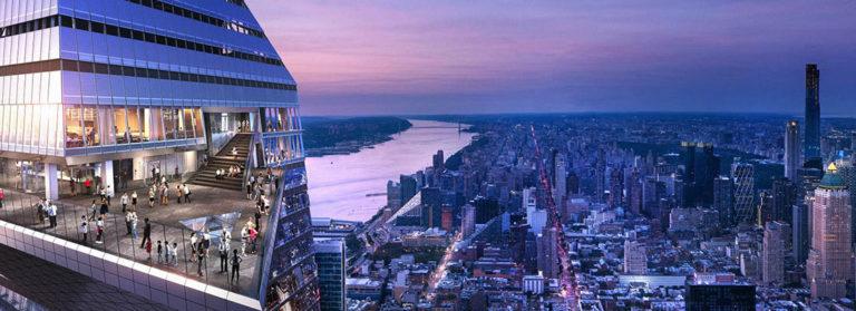 В Нью-Йорке открылась самая высокая в Западном полушарии обзорная площадка
