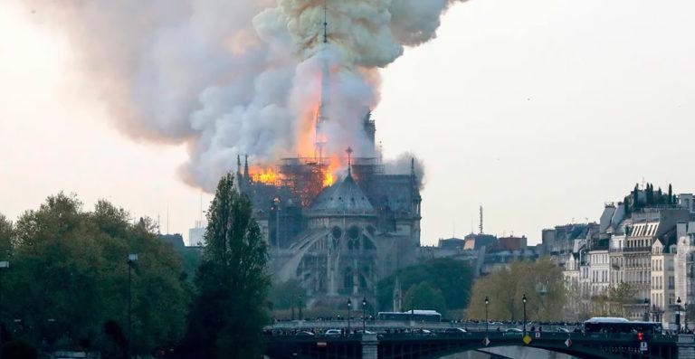 В соборе Парижской Богоматери возобновили работы по реконструкции
